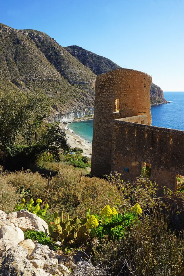 The old fort above the beach