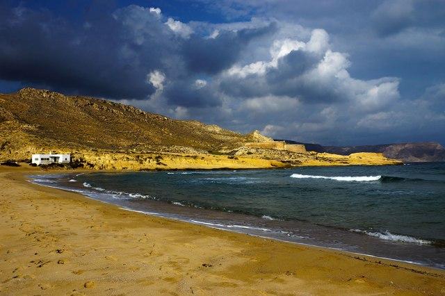 El Playazo with clouds looming